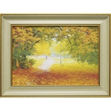 Дизайнерская картина Династия 05-013-03 Осенняя прогулка