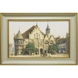 Дизайнерская картина Династия 05-015-03 Старинная площадь