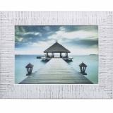 Дизайнерская картина Династия 05-019-04 Пирс на море