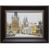Дизайнерская картина Династия 05-025-10 Зимняя Прага