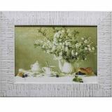 Дизайнерская картина Династия 05-026-04 Натюрморт с цветущей вишней