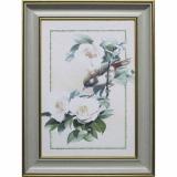 Дизайнерская картина Династия 05-030-03 Птица на ветке