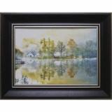 Дизайнерская картина Династия 05-047-10 Дом у пруда