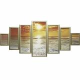 Модульная картина Династия 06-079-05 Закат над морем