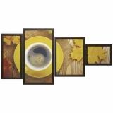 Модульная картина Династия 06-088-06 Согревающий кофе