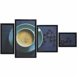 Модульная картина Династия 06-090-06 Капучино