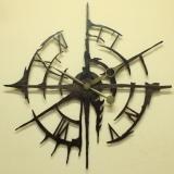 Настенные часы из металла Династия 07-003 Галактика