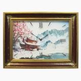 Часы картины Династия 04-051-16 Зима в Китае