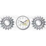 Настенные часы с зеркалами GALAXY 212-SET-54-4
