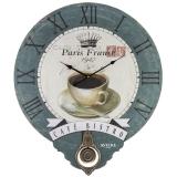 Большие настенные часы с маятником Aviere 25626