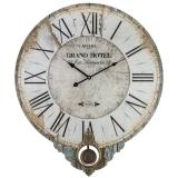 Большие настенные часы с маятником Aviere 25631