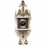 Настенные механические часы SARS 5602-261 White