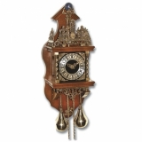 Настенные механические часы SARS 5602-261 Walnut