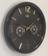 часы с термометром и гигрометром GALAXY 705-K