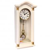 Механические настенные часы SARS 8535-341 White
