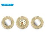 Настенные часы с зеркалами GALAXY 910-SET-6