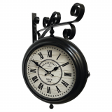 Настенные часы GALAXY AYP-820-2 Black