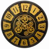 Настенные часы с шестеренками GALAXY CRK-500-K