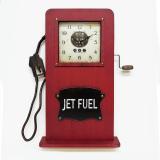 Настенные часы-бензоколонка GALAXY DA-005 Red
