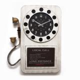 Настенные часы-телефон GALAXY DA-006 White