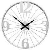 Настенные часы GALAXY DM-110 White, из металла, 70 см