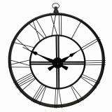 Настенные часы GALAXY DM-120 Black, 70см, из металла