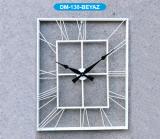 Настенные часы GALAXY DM-130 White, из металла, 70 см