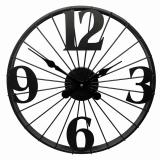 Настенные часы GALAXY DM-60 Black, 50см, из металла