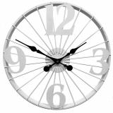 Настенные часы GALAXY DM-60 White, из металла, 50 см