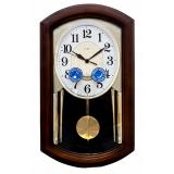 Настенные часы с  мелодиями и маятником La Mer GT-9515-1