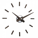 Настенные часы Nomon SUNSET WENGE, d=50см