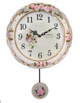 Настенные часы с маятником Kairos KF-163W