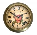 Настенные часы из металла B&S M 160-F