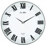 Настенные часы из стекла La Mer GD221-5