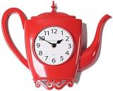 Настенные часы B&S  M 100 RED (красные)