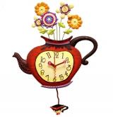 Настенные часы B&S JR1160B/B001 (Чайник)