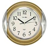Настенные часы из пластика LAMER GD 104001