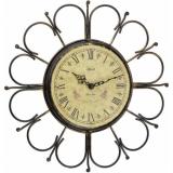 Настенные часы из металла  2100-00-896