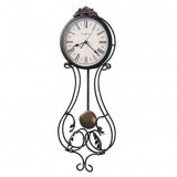 Настенные часы из металла Howard Miller 625-296 Paulina