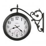 Настенные часы двусторонние Howard Miller 625-358 Luis