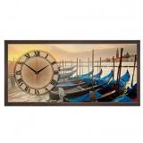 """Настенные часы из песка Династия 03-069  """"Вечер в Венеции"""""""