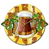"""Настенные часы Tiarella """"Кружка пива"""""""