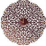Настенные часы Икониум (шоколад) засечки