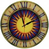 """Настенные часы Tiarella """"Витраж-4"""""""