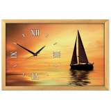 """Настенные часы из песка Династия 03-155 """"Корабль 1"""""""