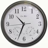 Настенные часы LA MER GD115-Gray