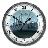 """Настенные часы из стекла Династия 01-029 """"Аврора"""
