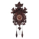 """Настенные часы с кукушкой Columbus """"Кленовый лист"""" CQ-044"""