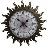 Настенные часы из металла 07-010