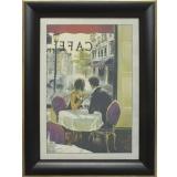 Дизайнерская картина Династия 05-001-02 Завтрак в кафе